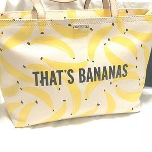 "NWOT Kate Spade ""That's Bananas"" Francis Bag"